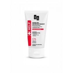 AA HELP Cera Atopowa Krem zel do mycia twarzy bezzapachowy // 0% parabenow, barwnikow