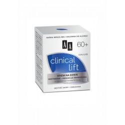 AA Clinical Lift 60+ // KREM NA DZIEN / Odzywienie+redukcja zmarszczek / tetrapeptyd,biomatryca/ Gestosc skory+odbudowa