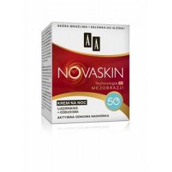 AA Novaskin Technologia mezobrazji / KREM NA NOC 50+/ Ujedrnienie+odbudowa / Aktywna odnowa naskorka