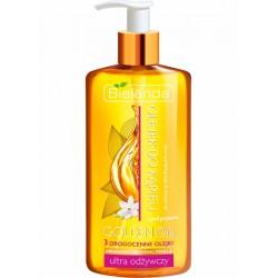 Bielenda OLEJEK DO KAPIELI i pod prysznic / 3 drogocenne olejki: arganowy, abisynski, perilla / Ultra odzywczy