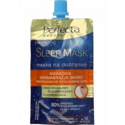 Perfecta SLEEP MASK- Maska na dobranoc / Kwasowa dermabrazja skory, Profesjonalne wygladzenie cery