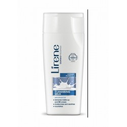 Lirene // Dermatologically tested // Cleansing milk with almond oil // creamy fomula