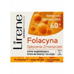 Lirene Folacyna Splycenie Zmarszczek 60+/ silnie wygladzajacy krem do twarzy i na szyje // Dzien SPF10