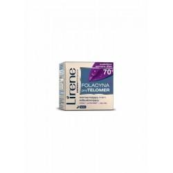 Lirene Folacyna+proTELOMER 70+ // Wzmacniajacy krem odbudowujacy na noc // Podwojna ochrona DNA