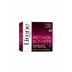 Lirene Retinol D-Forte 60+ // Ujedrniajacy krem dermo-regenerujacy na noc / Retinolowa regeneracja