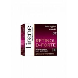 Lirene Retinol D-Forte 50+ // Ultra korygujacy krem ujedrniajacy na noc // Retinolowe wygladzenie