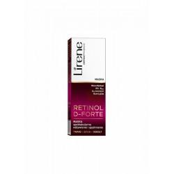 Lirene Retinol D-Forte // MASKA spektakularne odzywienie i ujedrnienie twarz, szyja, dekolt