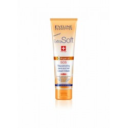EVELINE Extra Soft // Argan Oil SOS Rejuvenating hand and nail cream-mask 5in1 // Relief for very dry and rough skin