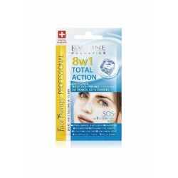 EVELINE 8in1 Total Action COOLING MASK + PEELING // Face, neck, decollete