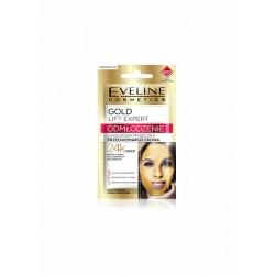 Eveline gold Lift Expert // Rejuvenation luxury anti-wrinkle face mask // 24k gold // mature,dry and sensitive skin