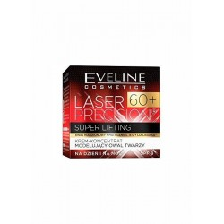 EVELINE LASER PRECISION 60+ // Super Lifting // Cream-Concentrate modeling face oval //day and night // SPF 8