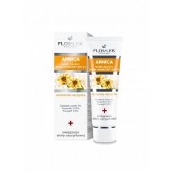 Floslek ARNICA / Nawilzajacy krem arnikowy SPF 15, Wzmacnia naczynka/ Pielegnacja skory naczynkowej
