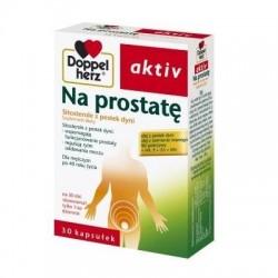 DOPPELHERZ AKTIV NA PROSTATE // Wspomaga funkcjonowanie prostaty, reguluje rytm oddawania moczu  // 30 kaps