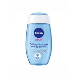 NIVEA BABY Delikatny szampon nadajacy polysk/ Delikatnie myje nadajac wlosom jedwabisty polysk // Nie szczypie w oczy