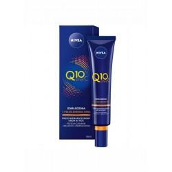 Nivea Q10 plus C / Przeciwzmarszczkowy krem na noc przeciw oznakoma zmeczenia i zmarszkom / Odmlodzona+pelna energii cera