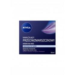 NIVEA Nawilzajacy przeciwzmarszczkowy krem na noc / Wszystkie typy skory / Redukuje zmarszczki, regeneruje skore noca
