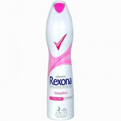 REXONA Women Long lasting protection //  BIORYTHM Ultra dry // Motionsense system // Anti-perspirant 48 active, 0%alcohol