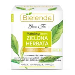 Bielenda Zielona Herbata // Matujacy krem zielona herbata na dzien / matuje,normalizuje,nawilza // cera mieszana