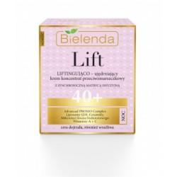 Bielenda Lift 40+ // Liftingujaco-ujedrniajacy krem koncentrat przeciwzmarszczkowy na noc // cera dojrzala,rowniez wrazliwa