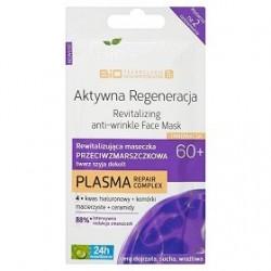 Bielenda // AKTYWNA REGENERACJA 60+ Rewitalizujaca maseczka przeciwzmarszczkowa twarz, szyja, dekolt PLASMA repair complex