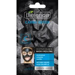 Bielenda Carbo Detox // Oczyszczajaca maska weglowa // detoksykuje,odswieza,nawilza // cera sucja i wrazliwa
