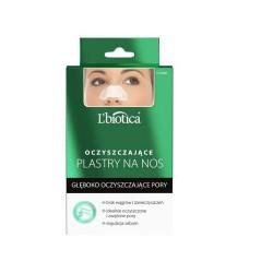 L'biotica Gleboko oczyszczajace plastry na nos // Idealnie oczyszczone i zwezone pory,regulacja sebum,bez zaskorniakow
