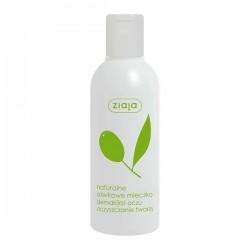 ZIAJA  naturalne oliwkowe  mleczko do demakijazu oczu , oczyszczanie twarzy