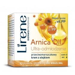 Lirene Arnica Oil Ultra-Odmlodzenie / Przeciwzmarszczkowy Krem z Olejkiem Dzien/Noc 50ml