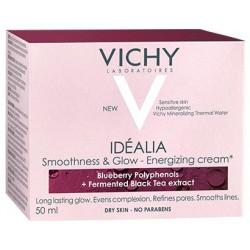 Vichy IDEALIA Energetyzujacy krem wygladzajacy/ Polifenole z jagod+wyciag z czarnej herbaty /skora sucha/ bez parabenow