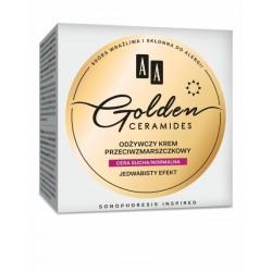 AA Golden Ceramides // Odzywczy krem przeciwzmarszczkowy // Cera sucha/normalna // Jedwabisty efekt