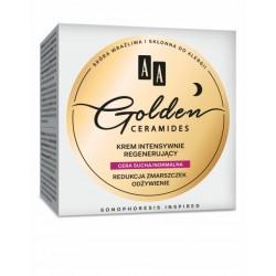 AA Golden Ceramides // Krem intensywnie regenerujacy // Cera sucha/normalna // Redukcja zmarszczek, odzywienie
