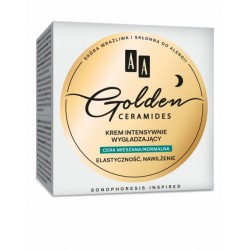 AA Golden Ceramides // Krem intensywnie wygladzajacy // Cera mieszna, normalna // Elastycznosc, nawilzenie