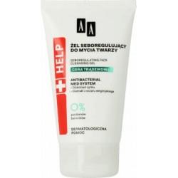 AA HELP Cera tradzikowa ZEL SEBOREGULUJACY do mycia twarzy