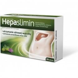 HEPASLIMIN // Utrzymanie zdrowej watroby, Zachowanie zdrowej masy ciala // 30tab.