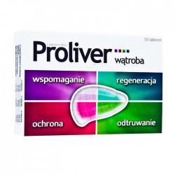 PROLIVER // Watroba oraz cholesterol // Wspomaganie, stymulacja, ochrona, odtruwanie // 30tab