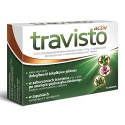 Travisto Activ // Lekkie skurczowe dolegliwosci zoladkowo -jelitowe / W zaburzeniach trawienia // 30 tab