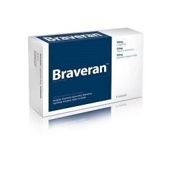 BRAVERAN Pomaga wywolac i wzmocnic erekcje, sprzyja utrzymaniu srawnosci seksualnej, wywiera korzystny wplyw na libido