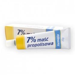MASC PROPOLISOWA 7% // Chroni i pielegnuje naskorek,przyspiesza proces odbudowy naskorka // Farmapia 20 g