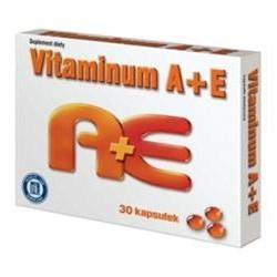 Vitaminum A + E // Suplement diety // Kapsulki miekkie // 30 kapsulek