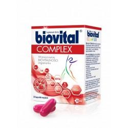 Biovital Complex // Wzmocnienie Biovitalnosci organizmu // 30 kapsulek miekkich // Suplement diety