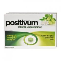 POSITIVUM tabletki uspokajajace / Pomagaja zmniejszyc napiecie, wspomagaja spokojny sen // 180 tabletek