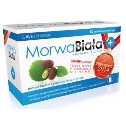 Morwa Biala + // morwa biala + cynamonowiec + chrom // suplement diety // 60 tab.