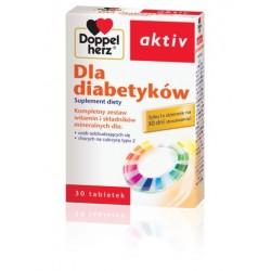 DOPPELHERZ AKTIV DLA DIABETYKOW // Kompletny zestaw witamin i skladnikow mineralnych dla: osob chorych na cukrzyce 30tab