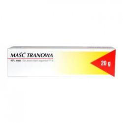 MASC TRANOWA 20g // Lek ulatwiajacy gojenie np. w oparzeniach, odlezynach, odmrozeniach