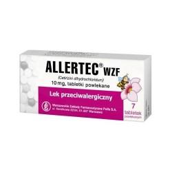ALLERTEC WZF // Lek przeciwalergiczny, 10 mg tabletki powlekane / 7 tabletek
