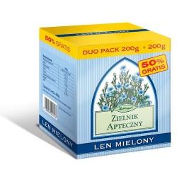 LEN MIELONY Duo pack 200g+200g // Zielnik Apteczny