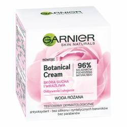 Garnier Botanical Cream // Krem do cery suchej i wrazliwej // Odzywienie i ukojenie // Woda rozana
