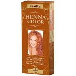 VENITA HENNA COLOR Ziolowy balsam koloryzujacy CHNA 4