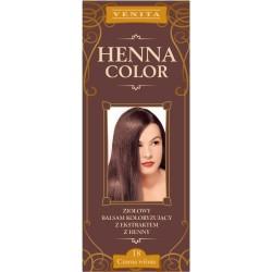 HENNA COLOR Ziolowy balsam koloryzujacy CZARNA WISNIA 18
