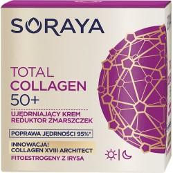 Soraya Total Collagen 50+ // Ujedrniajacy krem reduktor zmarszczek na dzien i noc